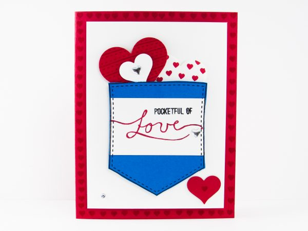 Stampin up pocketful of love post by demonstrator brandy cox todays card features the pocketful of sunshine stamp set along with some sweet sassy framelits m4hsunfo