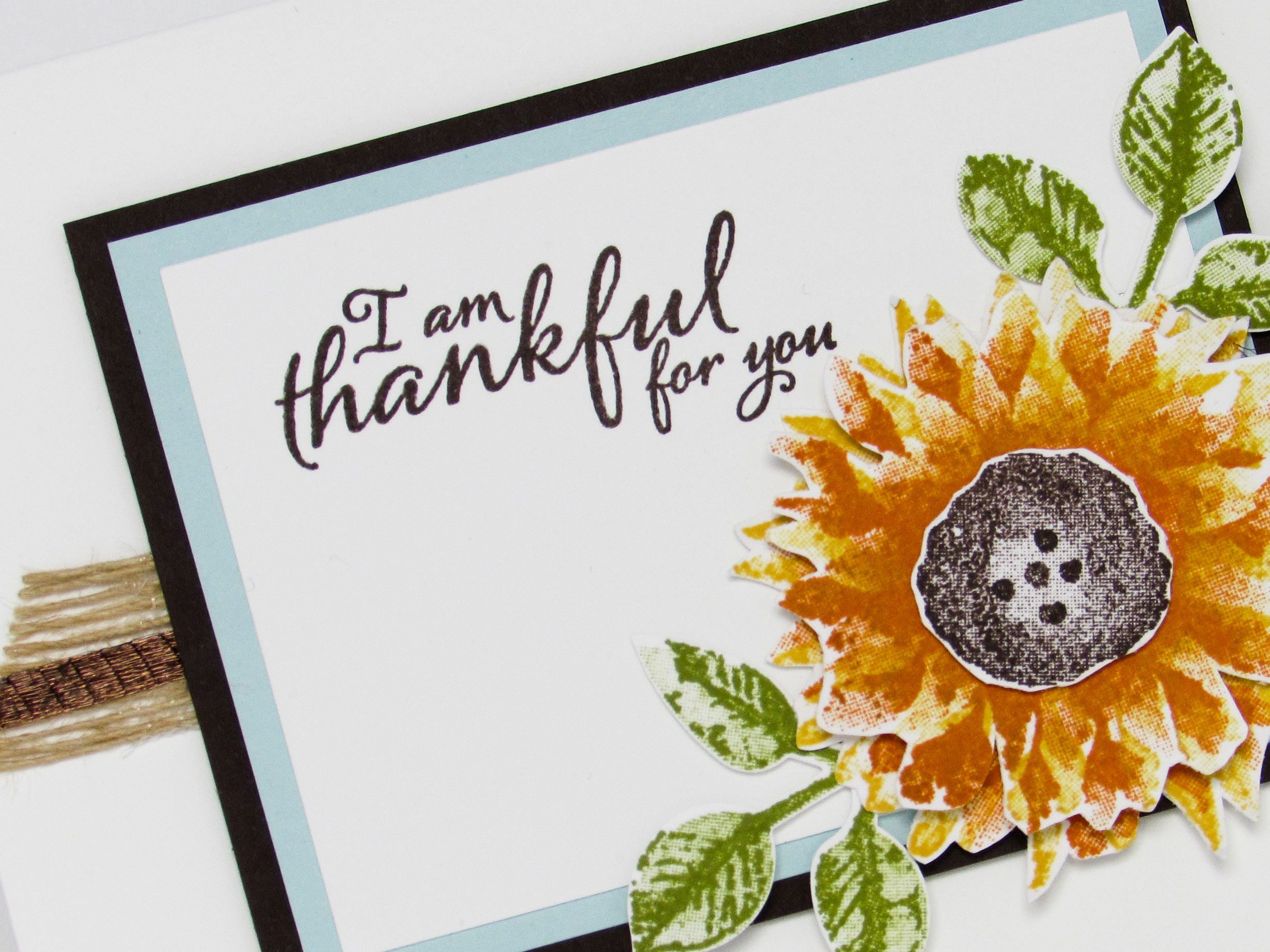 stampin up - painted harvest - video tutorial