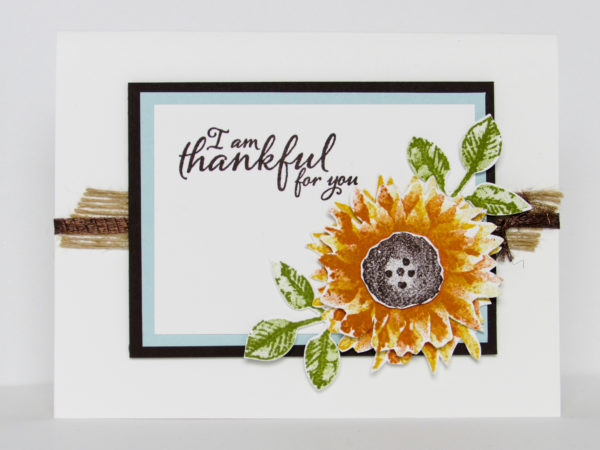 Stampin Up Painted Harvest Video Tutorial Post By Demonstrator Brandy Cox