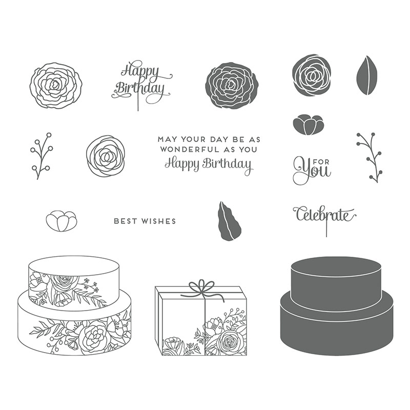 Stampin Up Cake Soiree Bundle Video Tutorial Post By