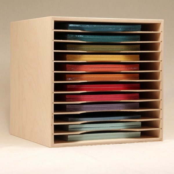 Stamp-n-Storage paper holder