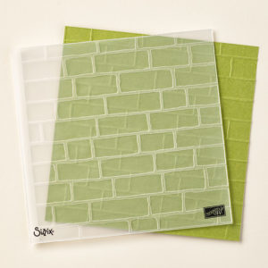 138288 Brick Wall Embossing Folder