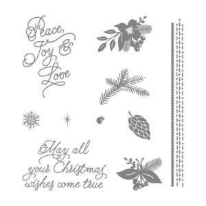 141570 Peace Of Christmas - Clear