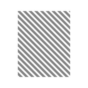 141917 Diagonal Stripe - Clear
