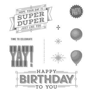 142874 Super Duper - Clear