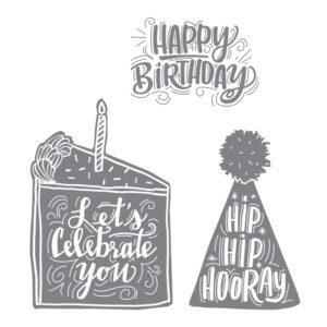 143778 Celebrate You - Clear