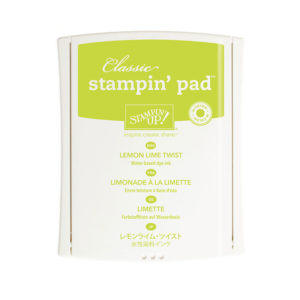 144086 Lemon Lime Twist Stamp Pad