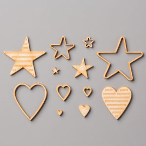 144215 Hearts Stars Elements