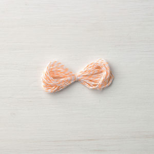 144357 Peekaboo Peach Bakers Twine