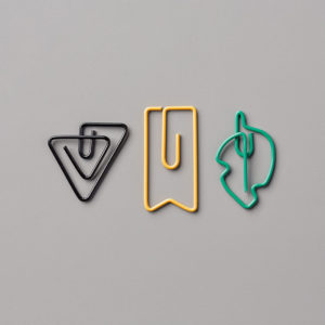 Eclectic Shapped Paper Clips