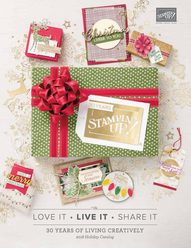 2018 Stampin Up Holiday Catalog
