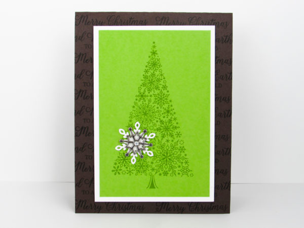 Stampin Up - Snow is Glistening - PDF Tutorial - Post By