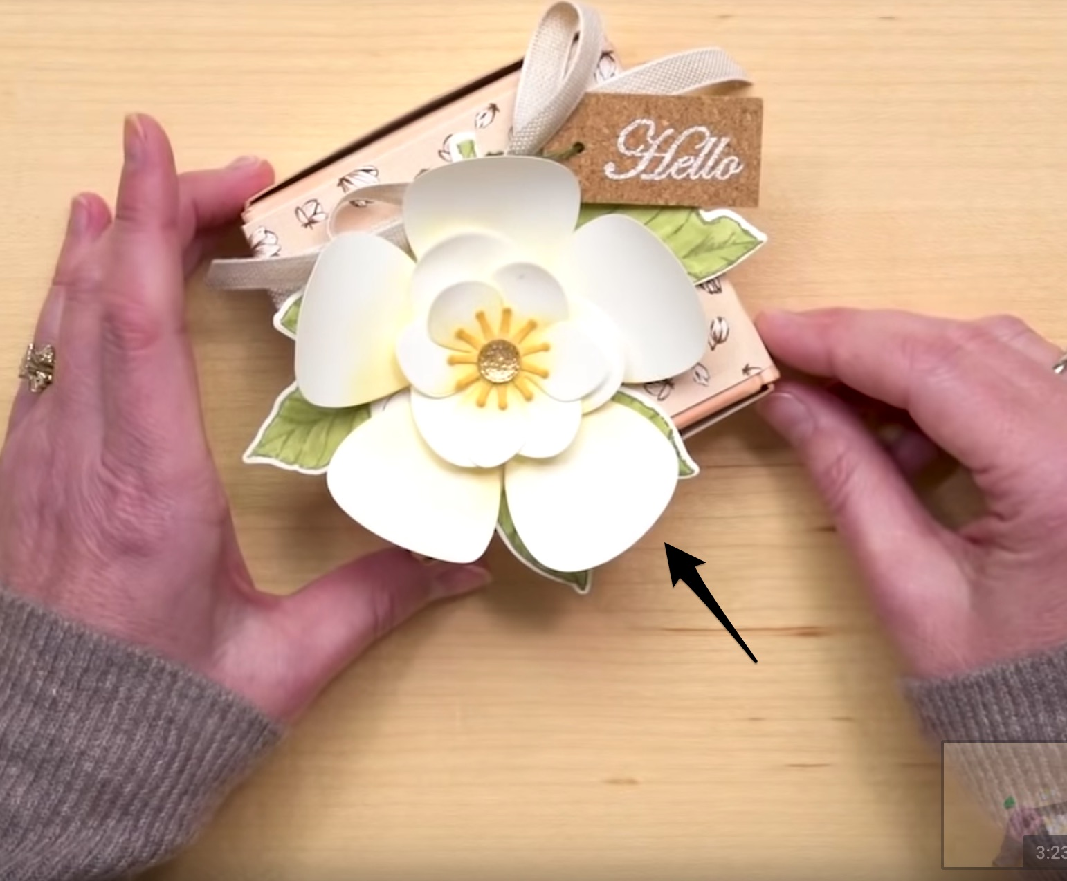 Paper and Fiber Arts: Tutorial on Making Paper Flowers From EK ... | 1274x1542