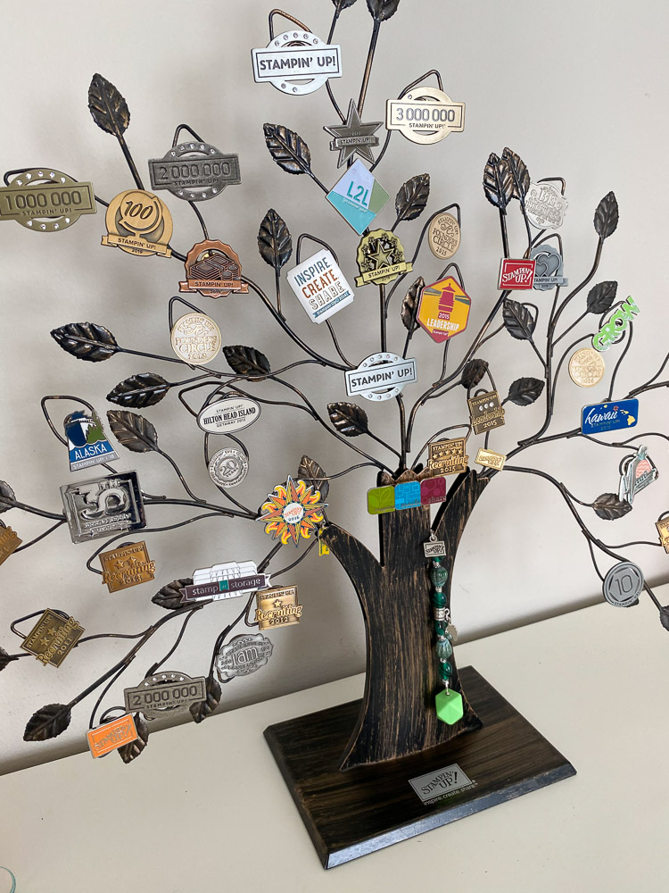 Stampin Up Pin Tree - Craft Room Tour
