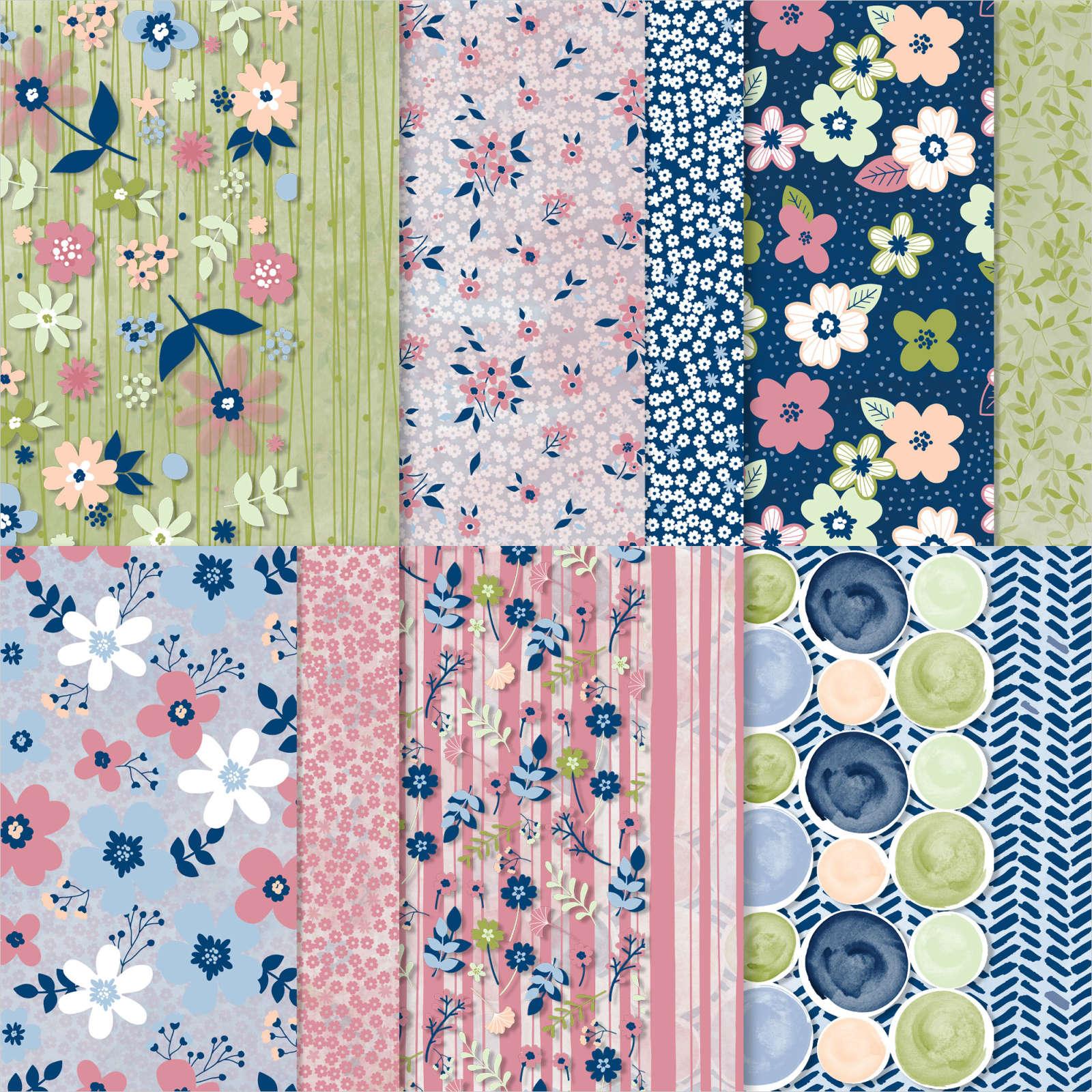 Sale-a-Bration - Paper Blooms DSP