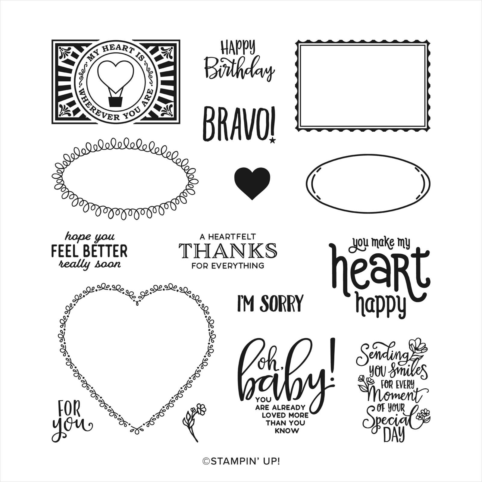 Sale-a-Bration Punch Party Stamp Set