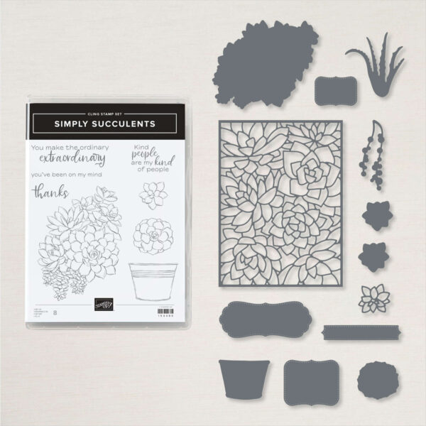 Simply Succulents Bundle from Stampin Up - BrandysCards