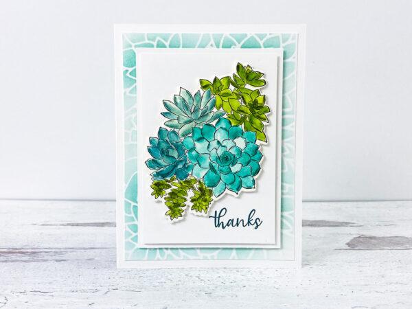 Create Vibrant Watercolor Succulents