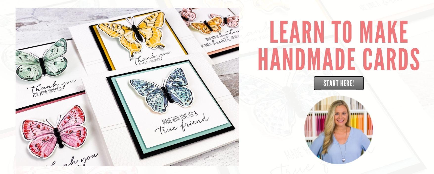 Learn to Make Handmade Cards