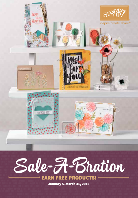 Stampin' Up! 2016 Sale-A-Bration Brochure