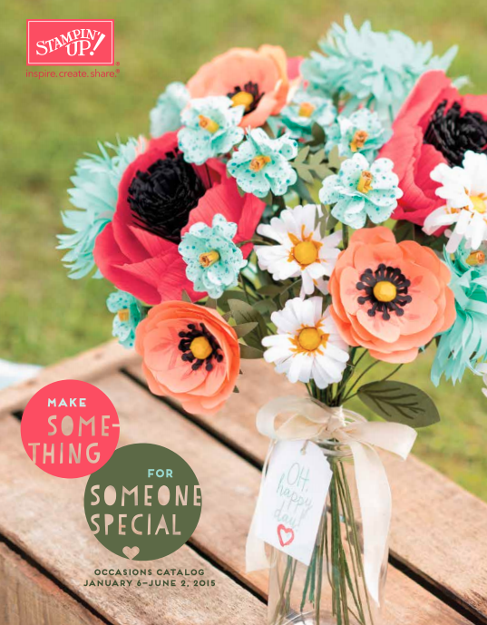 Stampin' Up! 2015 Occasions Catalog
