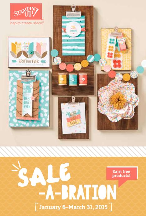 Stampin' Up! 2015 Sale-A-Bration Brochure