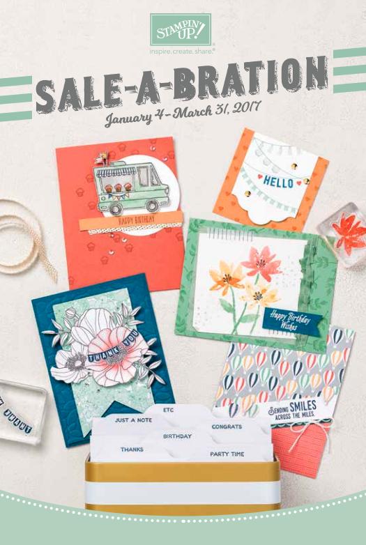 Stampin' Up! 2017 Sale-A-Bration Brochure