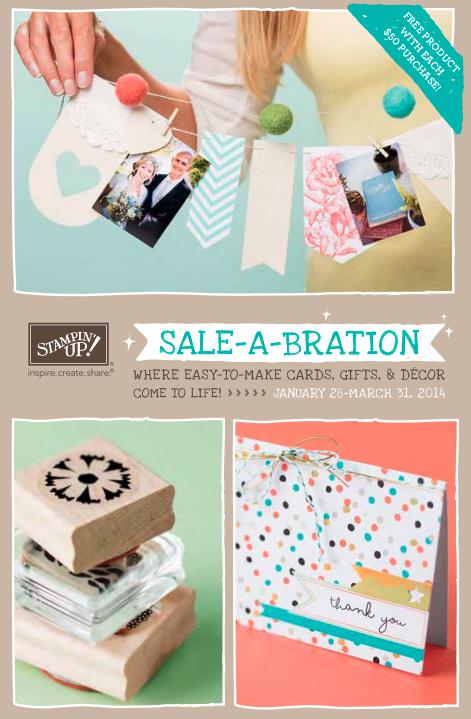 Stampin' Up! 2014 Sale-A-Bration Brochure