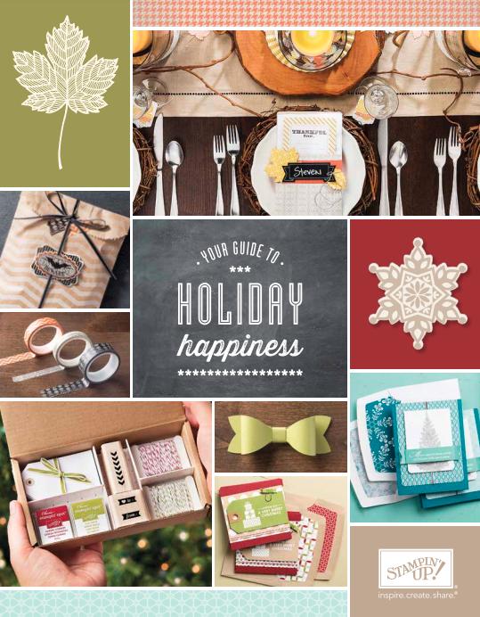 Stampin' Up! 2013 Holiday Catalog