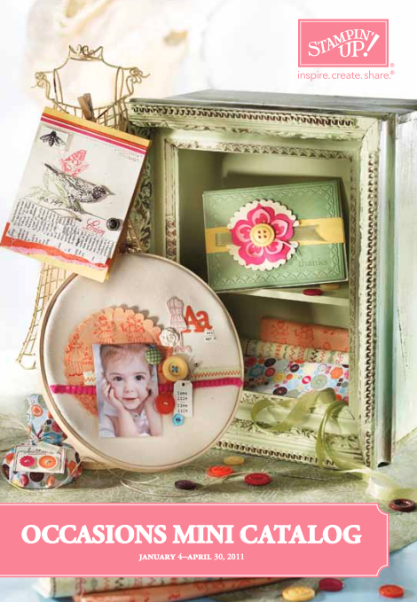 Stampin' Up! 2011 Occasions Mini Catalog