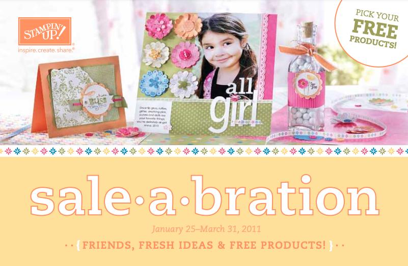 Stampin' Up! 2011 Sale-A-Bration Brochure