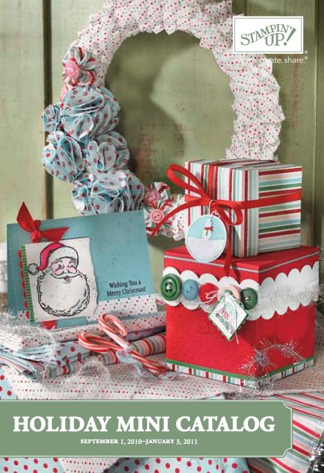 Stampin' Up! 2010 Holiday Mini Catalog