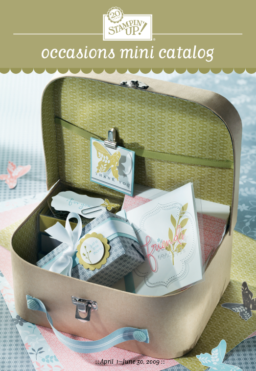 Stampin' Up! 2009 Occasions Mini Catalog