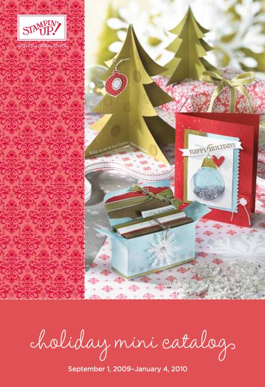 Stampin' Up! 2009 Holiday Mini Catalog