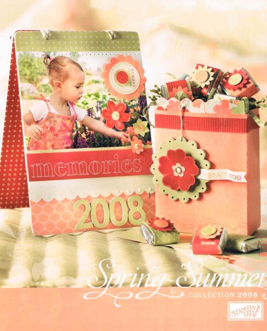 Stampin' Up! 2008 Spring-Summer Idea Book & Catalog