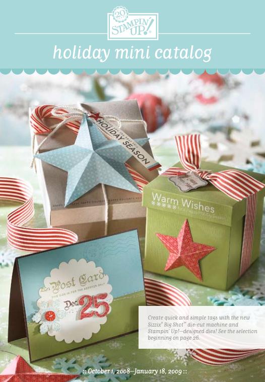 Stampin' Up! 2008 Holiday Mini Catalog