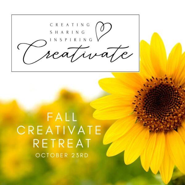 Creativate Fall Retreat