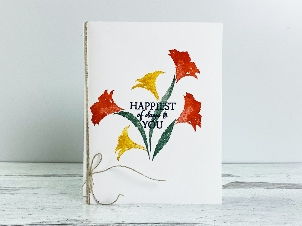 homemade-card-ideas-for-fall-with-stamped-amaryllis-flower